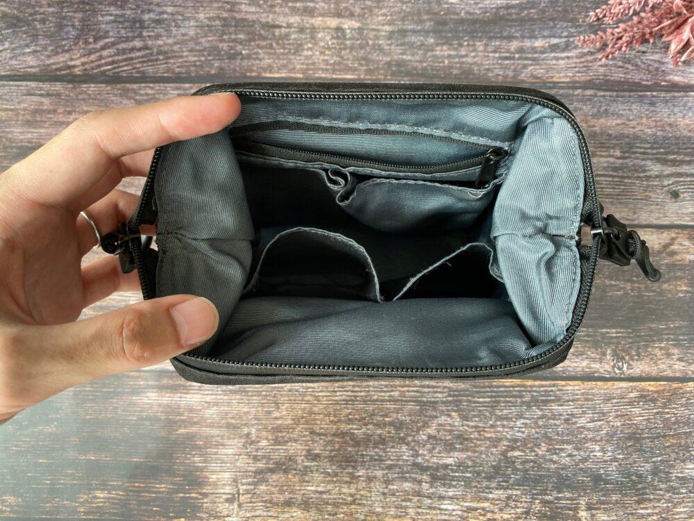 デイズポーチ収納ポケット